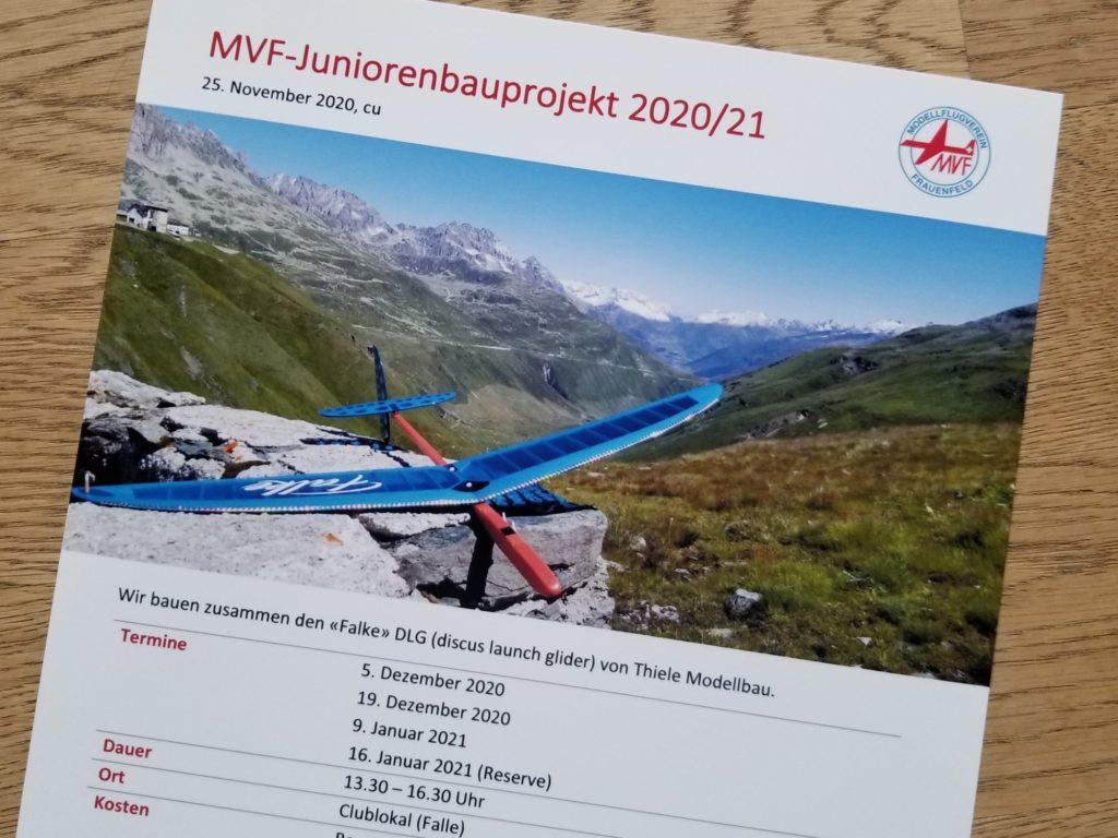 MVF Juniorenbauprojekt 2020/21